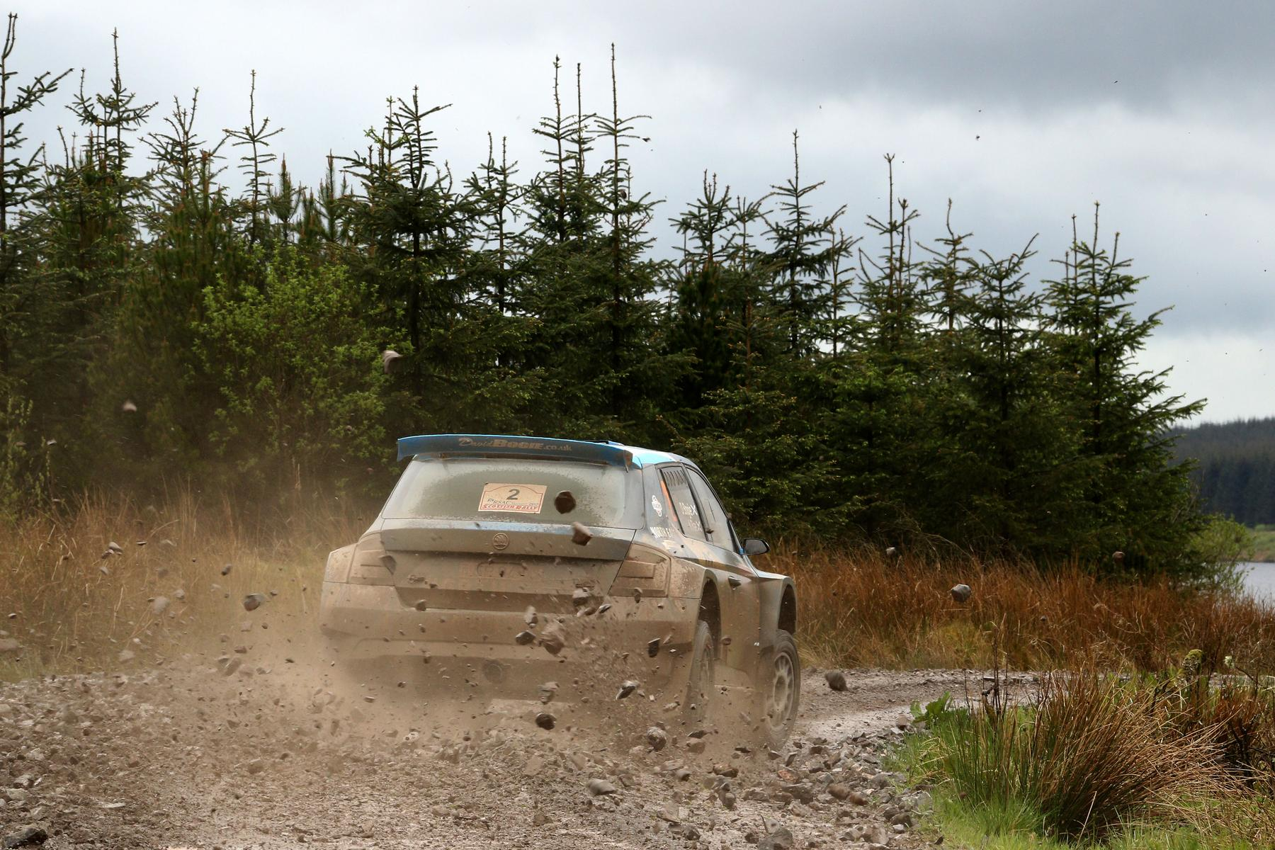BOGIE IS THE MAN AT HOME ON SCOTTISH RALLY - MPA Creative