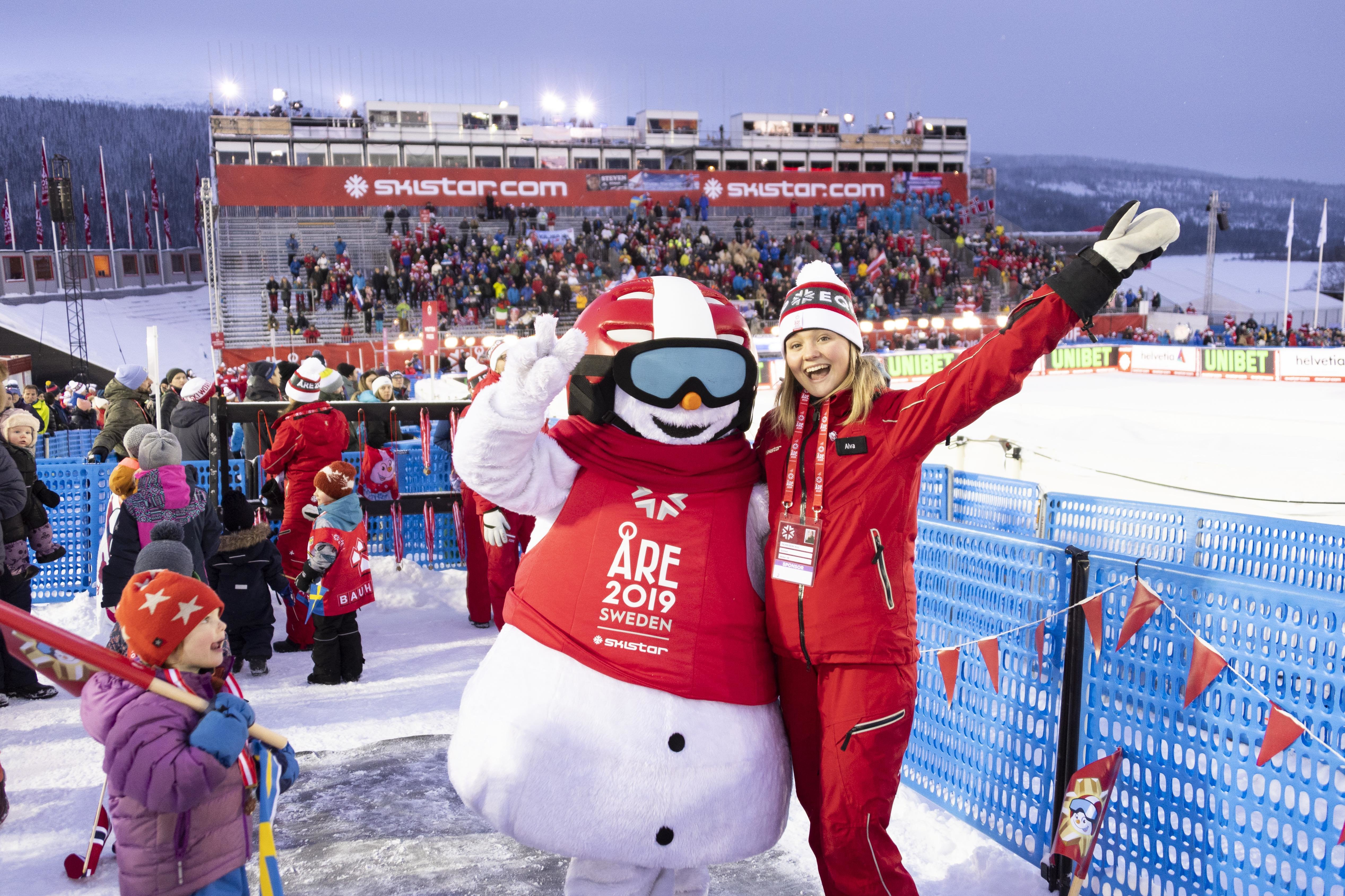 Are takes centre stage for the FIS Alpine Skiing Championships - Skistar
